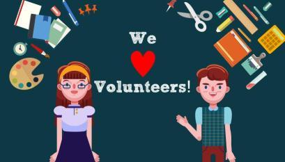 We Love Volunteers!