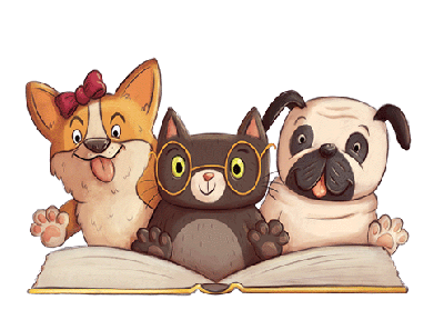 300018_large_paws_for_books_book_fair_clip_art_dogs_and_cat_reading-1.png