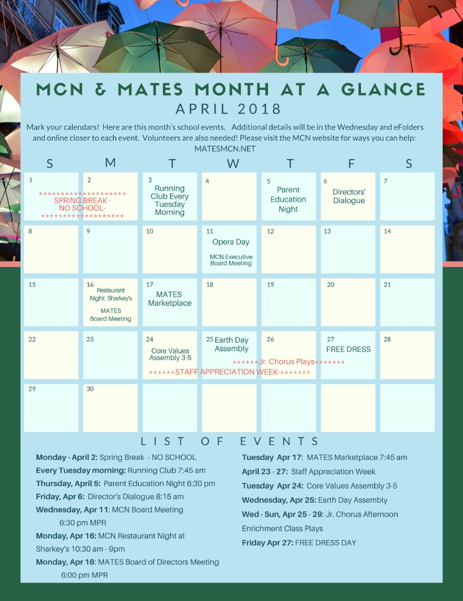 Month at a Glance (1)