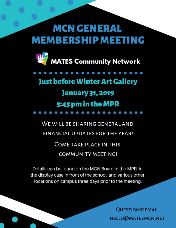 gen mem meeting winter 2019