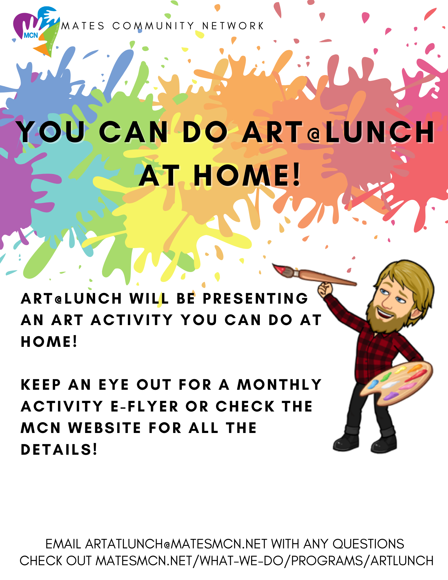 Art @ Lunch Flyer