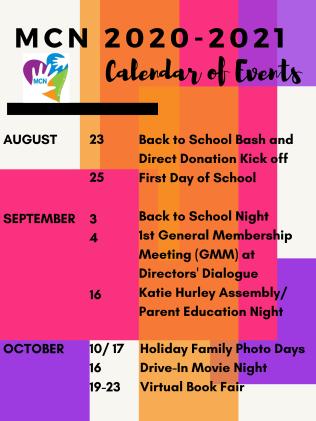 MCN 2020-2021 Calendar